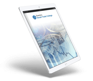 Elementary Concepts and Terms of the Forex Market free eBook on a white tablet