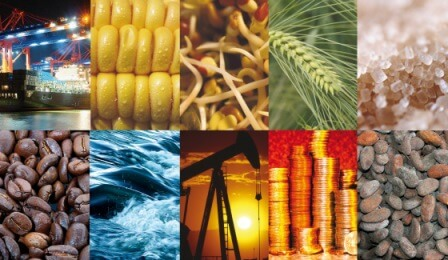 different commodities to trade